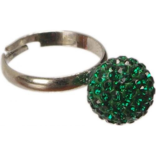 Ring Shamballa BA19 Green