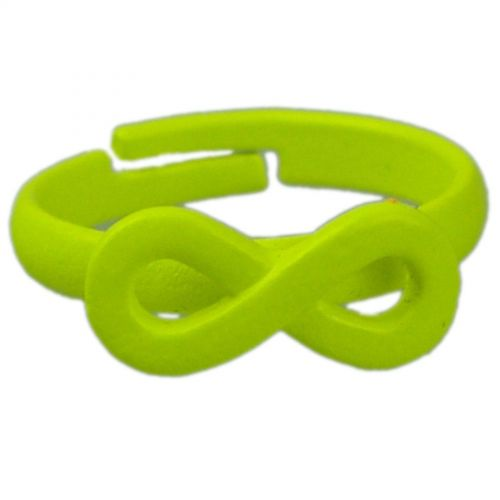 Ring Metal Infinite 4774 Flashy Green