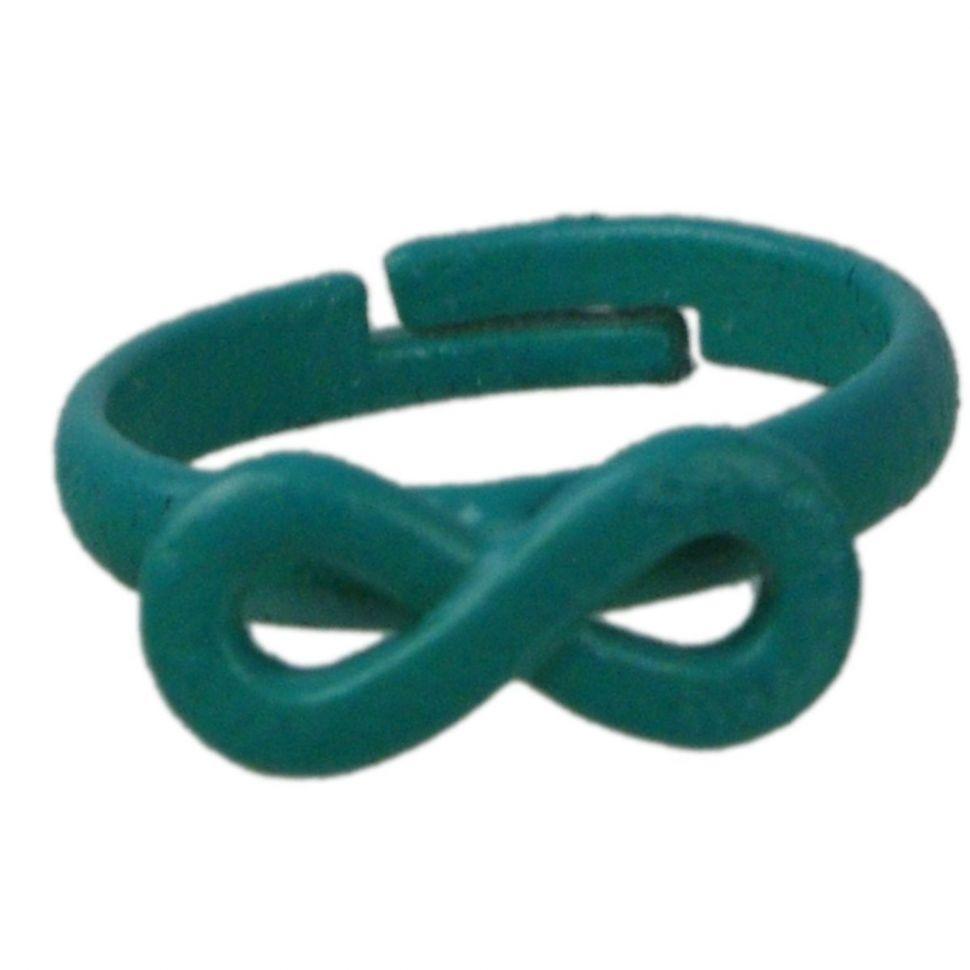Ring Metal Infinite 4774 Green