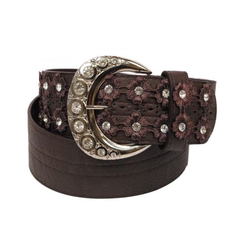 DANICA large leatherette belt