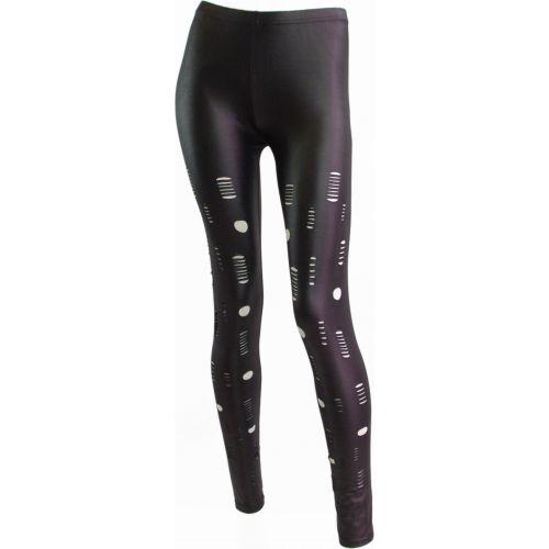 Legging socchiusa, 5066 NERO