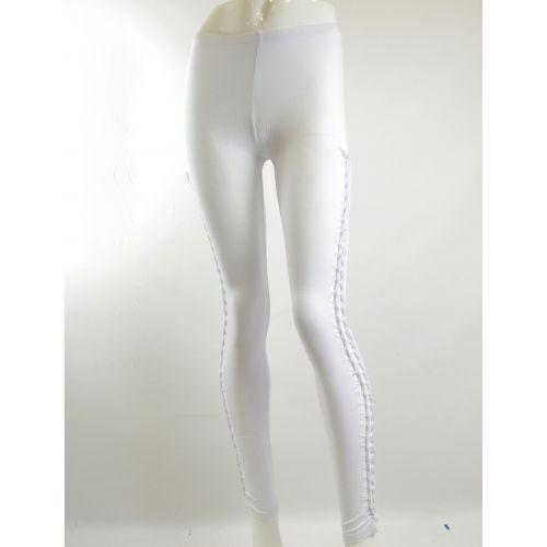 Legging entralcé, 5060 Blanc