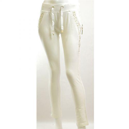 Chic pantalone sportivo 5335 BIANCO
