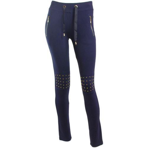 Chic sportivo 5338 pantaloni blu