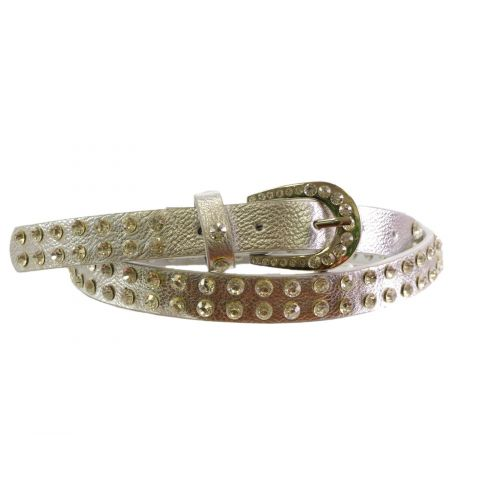 2,20 cm strass and studded belt, Terentia