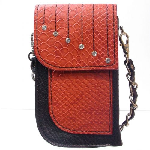 Sacs pour smartphone motif serpent, 5805 Rouge