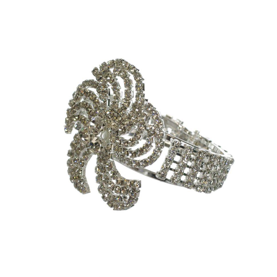 Bracelet manchette strass OGECHI