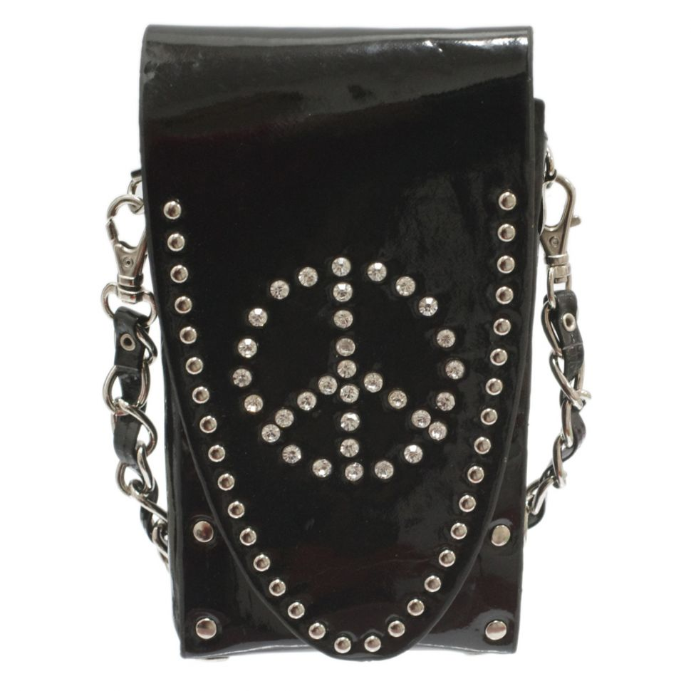 3 in 1 bags for smartphone, stars, rivets, rhinestones
