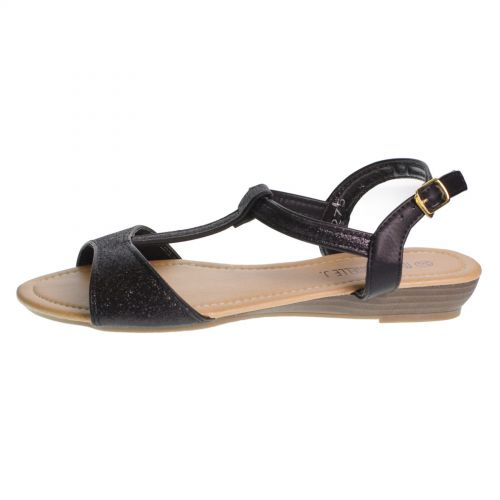 sandali neri 7811