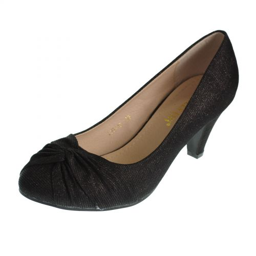 Escarpins Lurex Queen vivi , 8232 Noir