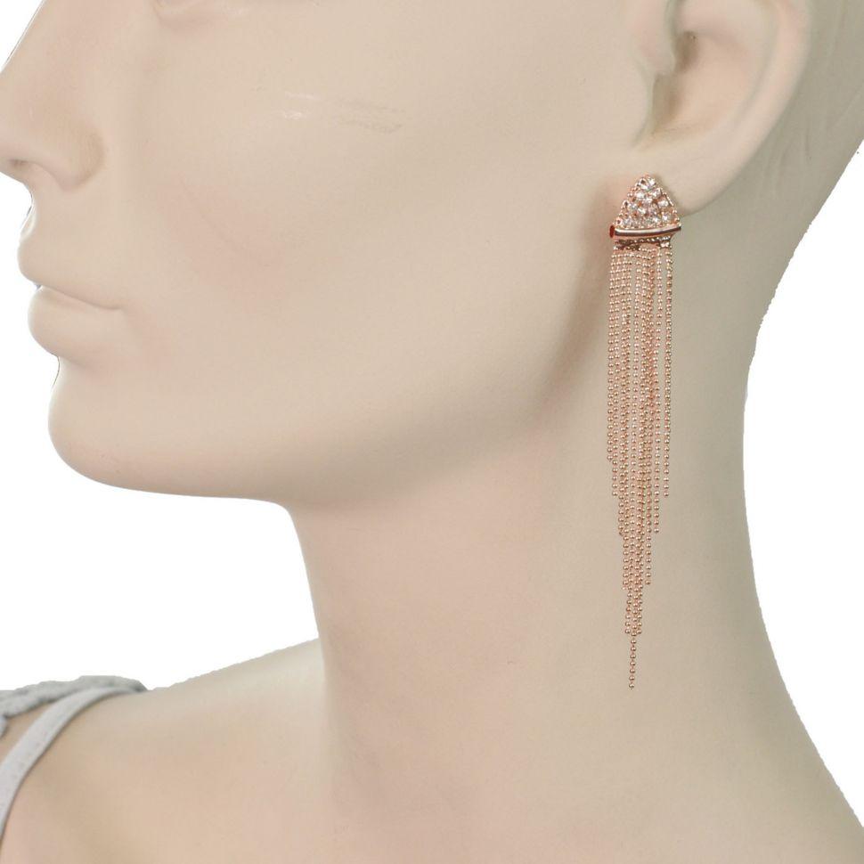 Boucles d'oreilles lamelles coloré, 2062