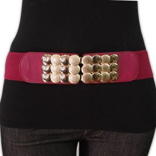 cintura elastica fibbia dorata Velina