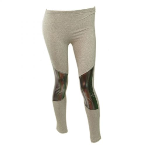 Legging cotton, 9326 Gris-Argent