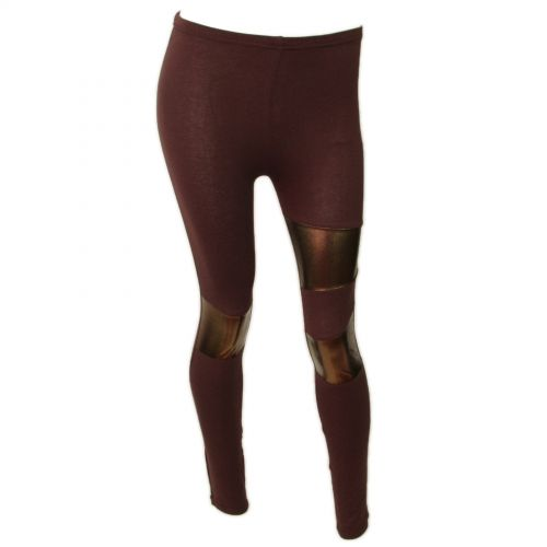 Legging cotton, 9329 Marron