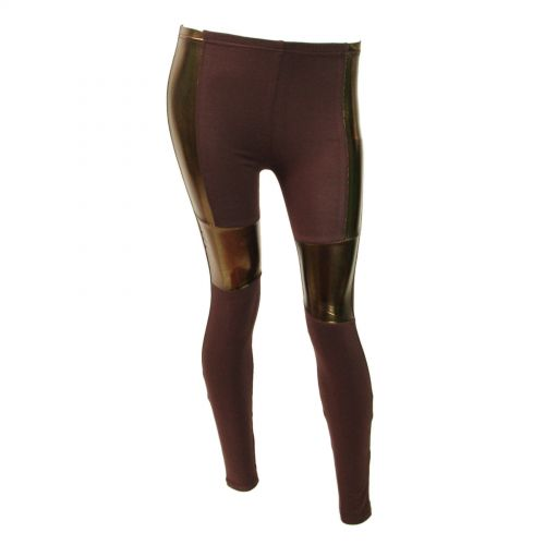 Legging cotton, 9321 Marron
