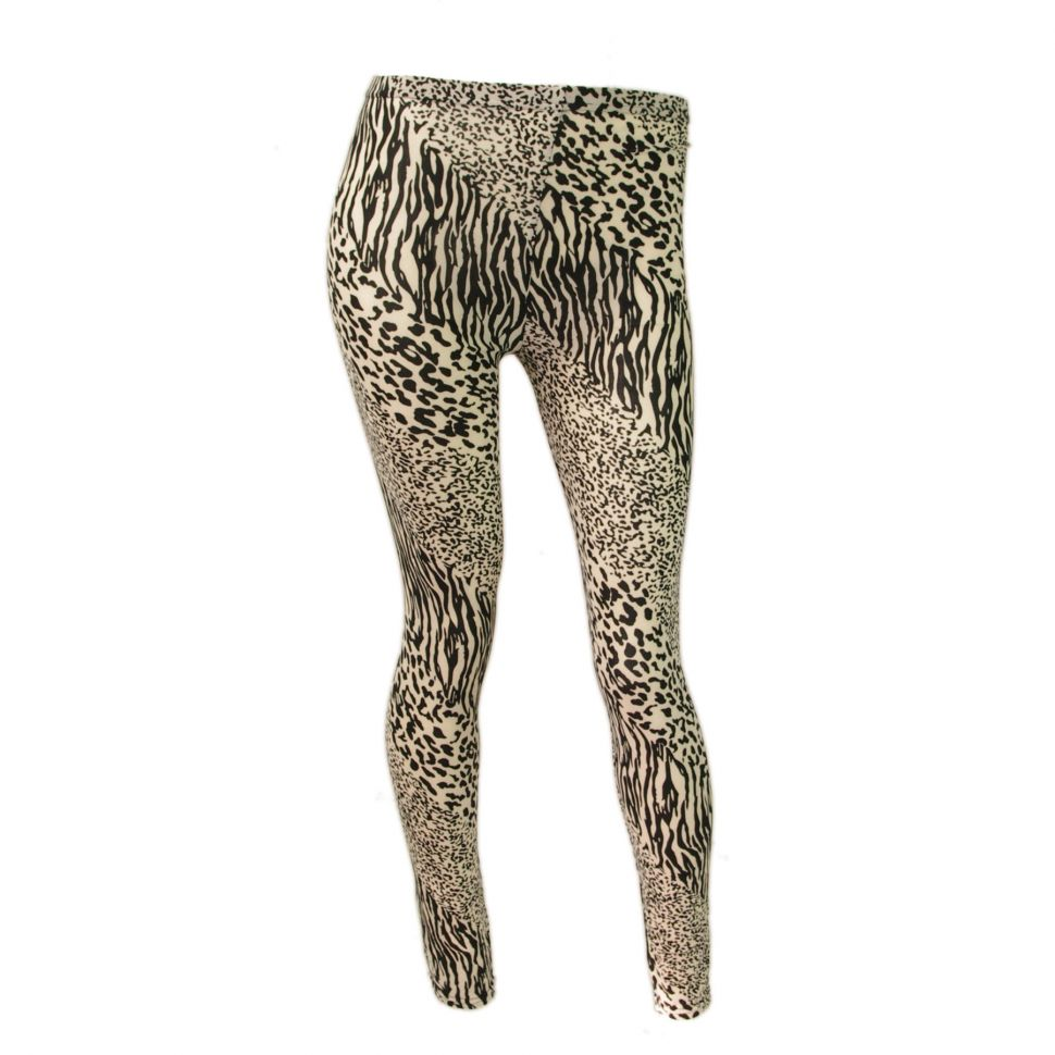 panther legging 9351 black-beige