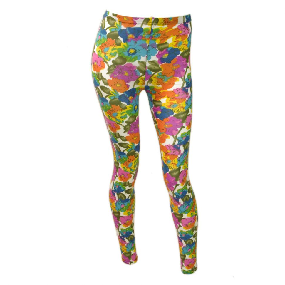 multicolor flower legging 9352