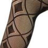 Collant Panty Fashion, 9385 Noir Noir - 9385-26385
