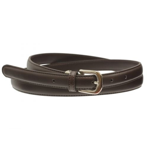 2 cm large women leather belt, AMELIA