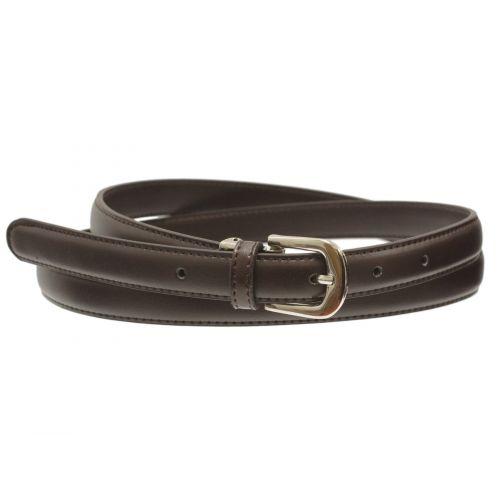 2 cm large women leather belt, AMELIA