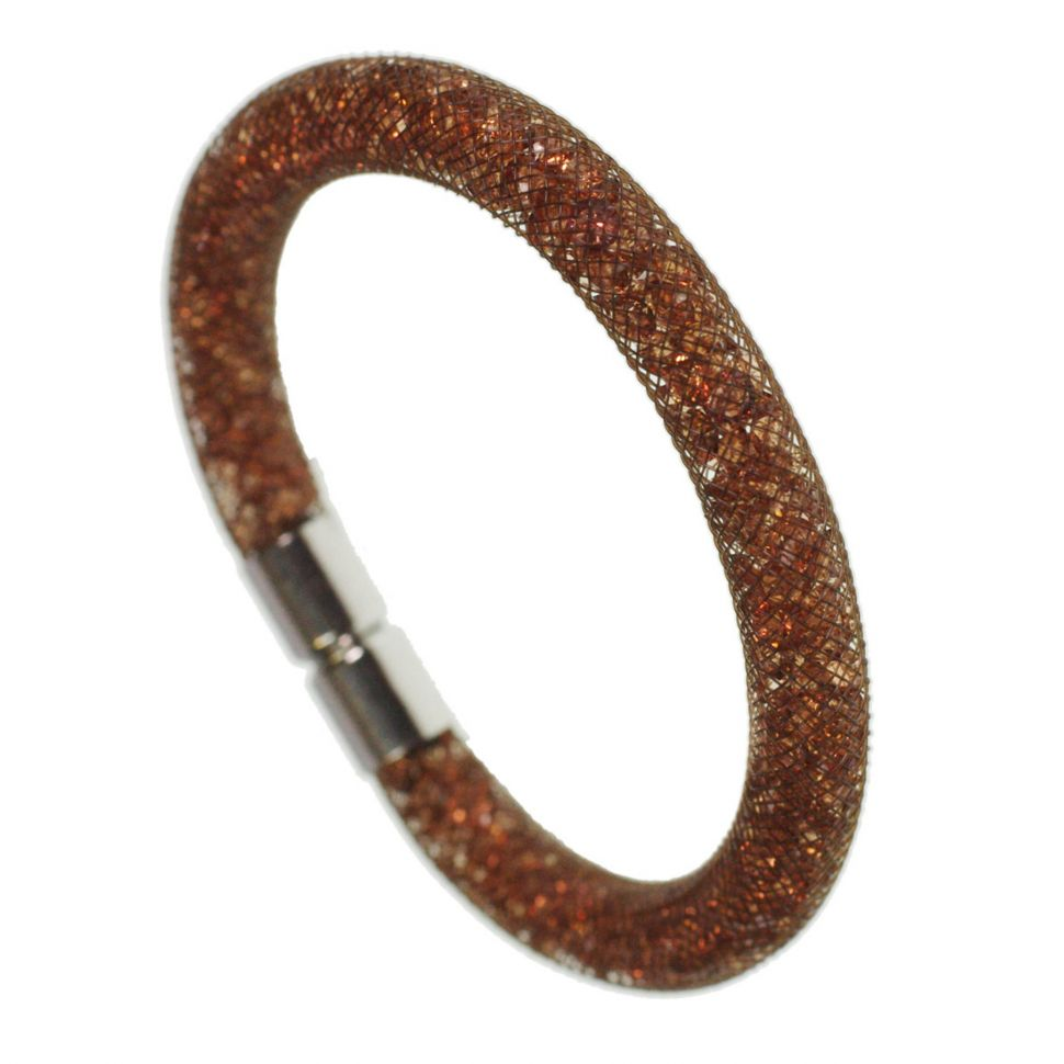 Bracelet cristal Razane Argenté 9445 Marron - 9445-26910