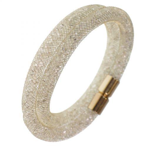 Crystal Wrap Bracelet golden Shaphia 9389