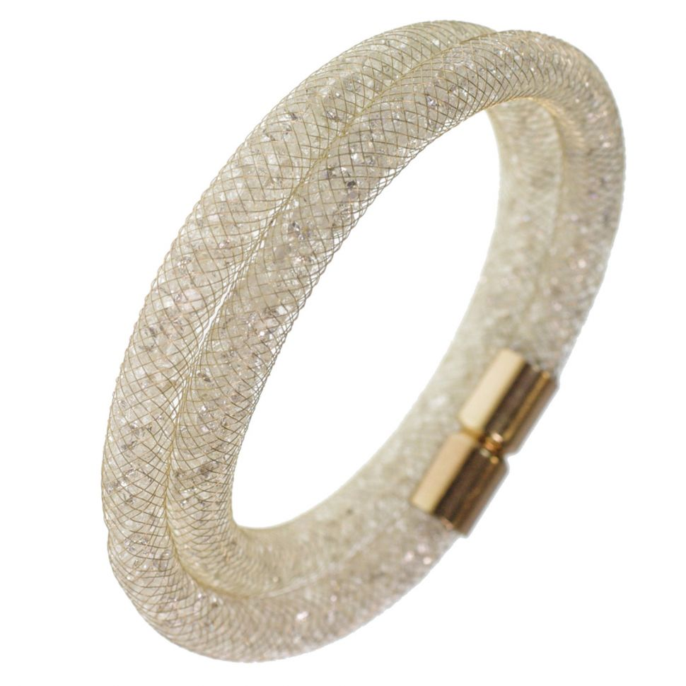Crystal Wrap Bracelet golden Shaphia 9389