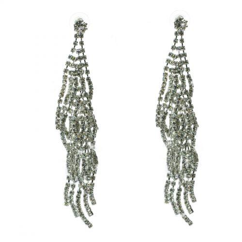Boucles d'oreilles cristal 9500