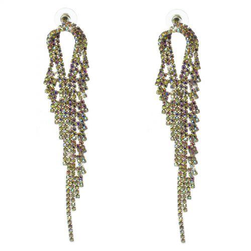 Boucles d'oreilles cristal 9503