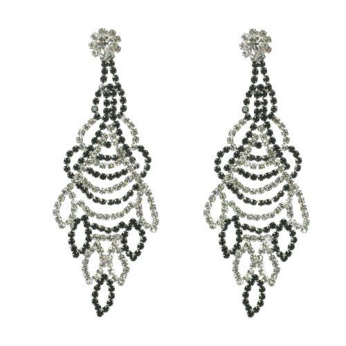 Boucles d'oreilles cristal 9504