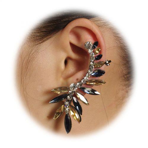 Bijou d'oreilles gauche Strass 9570