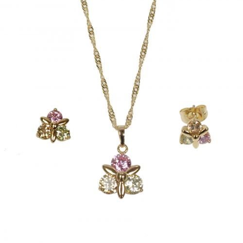 Parrure Necklace and Earrings Kilinia 9602