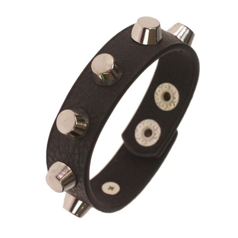 Bracelet cloutés Ginger 1871 Noir (Argenté) - 1871-28685
