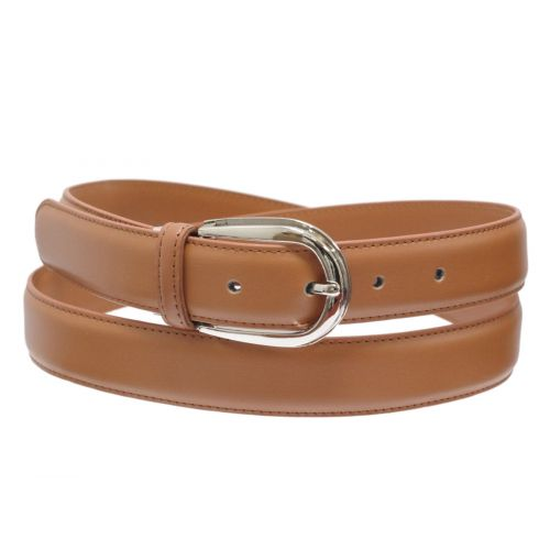 3 cm large women leather belt, ROZEEN