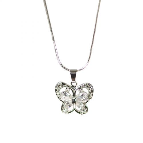 Fashion necklace crystal EVANNA