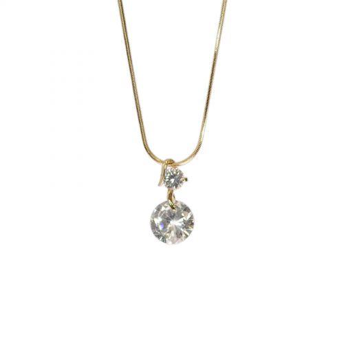 Collier fantaisie cristal Charline