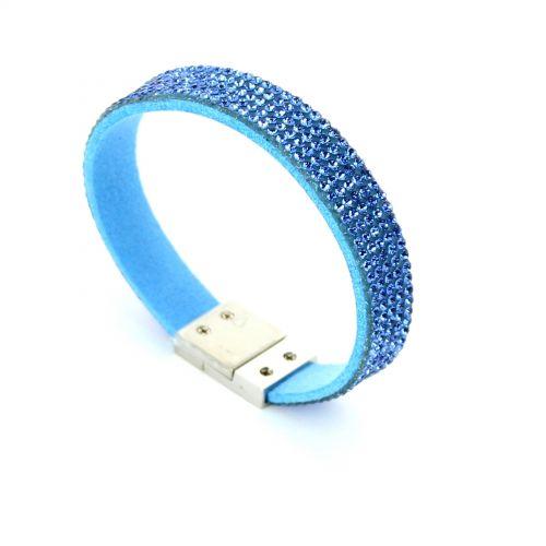 Bracelet Strass cristal 5 rangs MAELIS