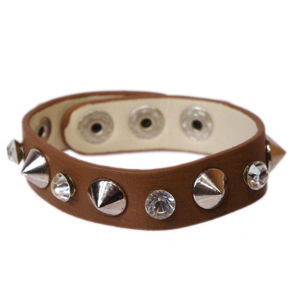 Bracelet similicuir Aurane Marron - 3980-29821