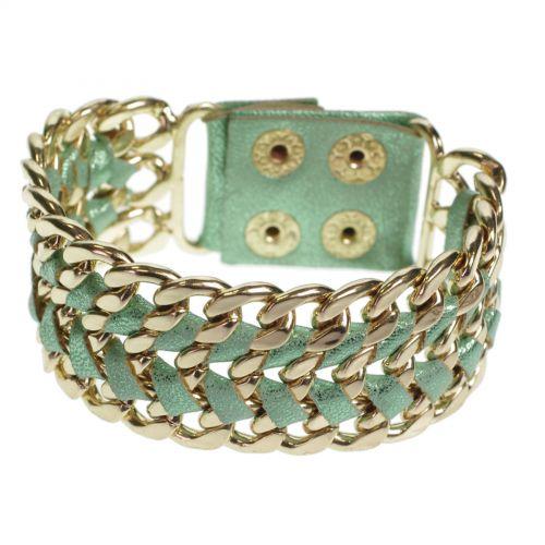 Chains leatherette bfracelet ALARA