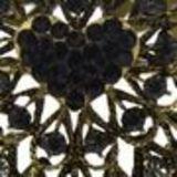Bracelet manchette Arwen Noir - 6023-29974