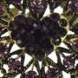Bracelet manchette Arwen Violet - 6023-29976