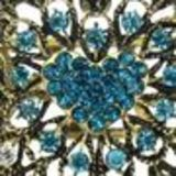 Bracelet manchette Arwen Bleu turquoise - 6023-29978