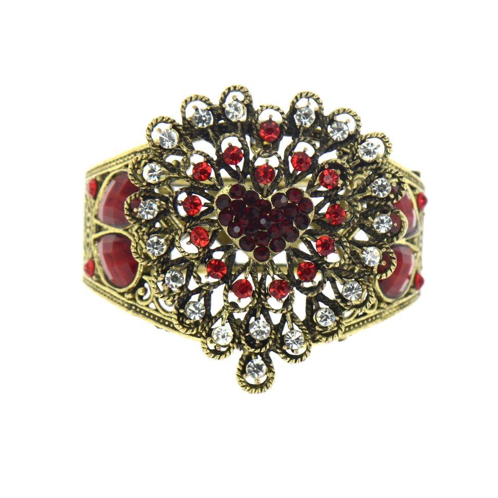 Bracelet manchette Arwen Rouge - 6023-29983