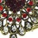 Bracelet manchette Arwen Rouge - 6023-29984