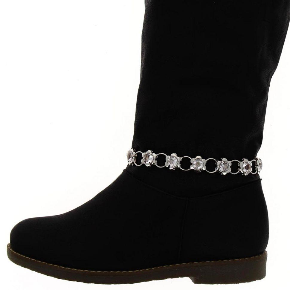 ZIA pair of boot's jewel