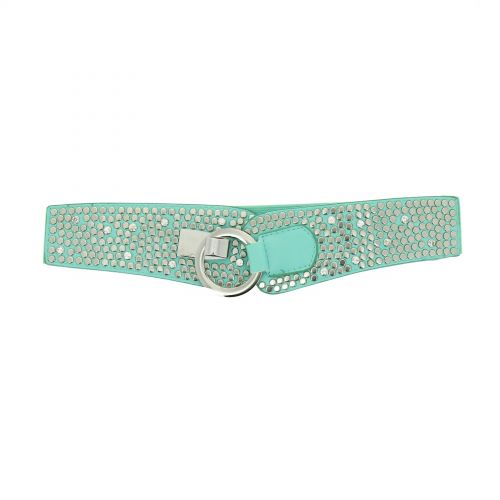 Strass and Studded elastic belt Oceane
