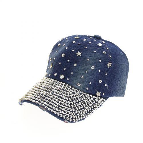 DELE strass cap hat