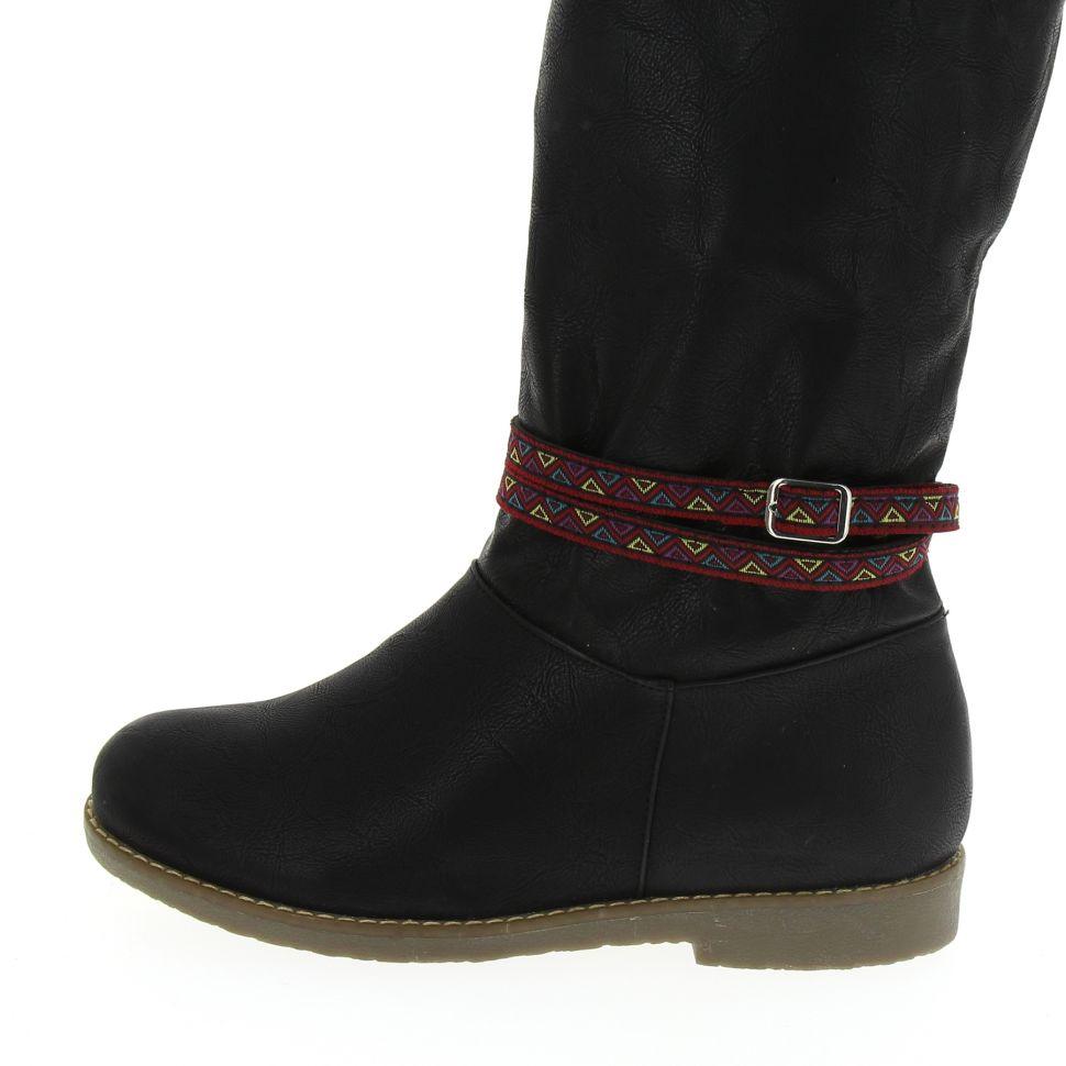 LOU-EVA pair of boot's jewel