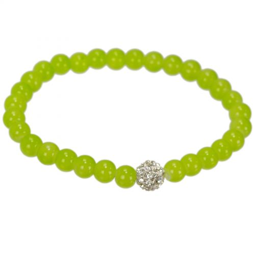 Strass and Peals bracelet MARIE-EVELINE