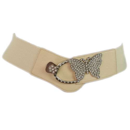 Butterfly strass elastic belt, PHYLICIA